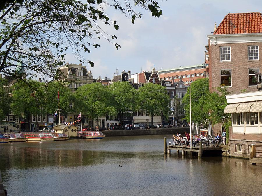 Pub with lovely terrace, De Jaren - Amsterdam