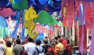 Barcelona Gràcia Festa Major