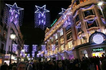 Barcelona shopping night
