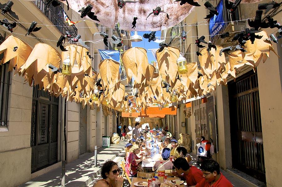 Gracia Festa Major Festival Barcelona