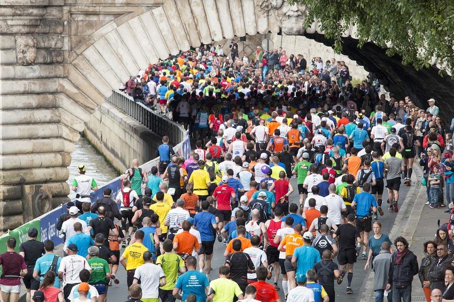 Marathon de Paris, France