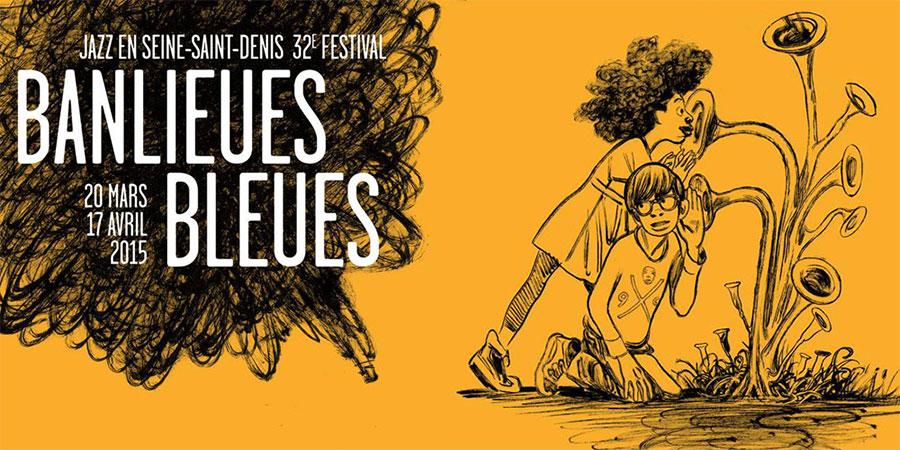 Banlieues Bleues Festival Jazz, Paris