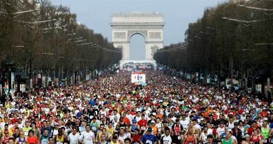 Marathon de Paris, France