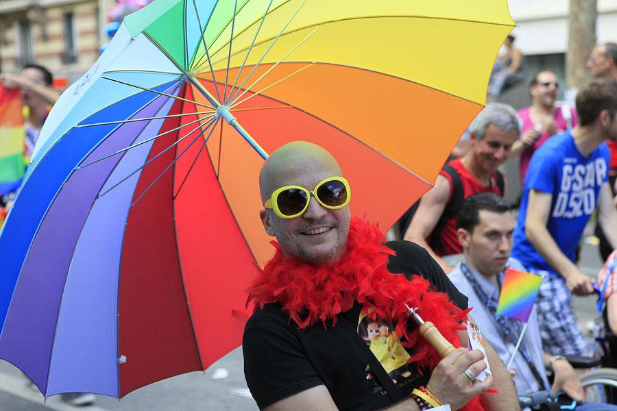 Gay Pride in Paris, France