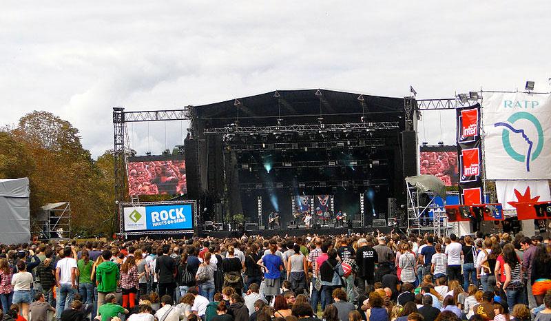 Paris Rock en Seine Music festival