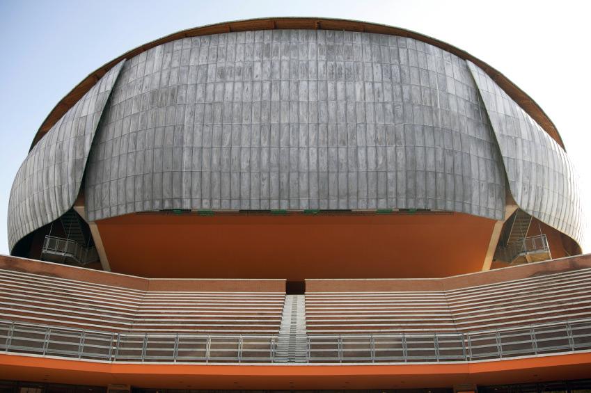 Rome auditoreum Parco della Musica