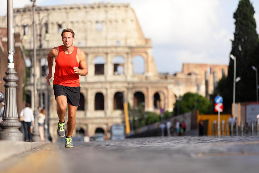 Yearly Rome marathon event