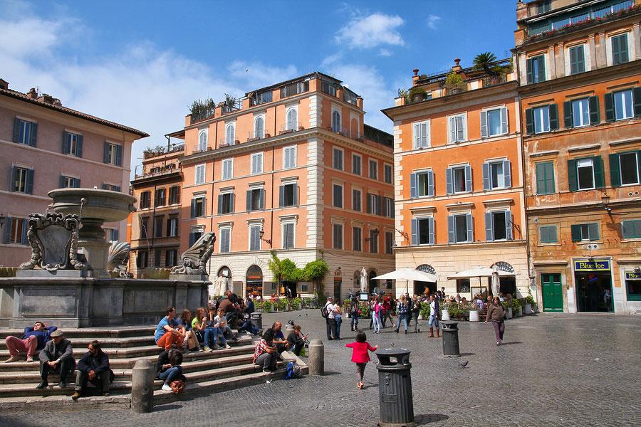 Trastevere area, Rome, Italy
