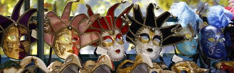 Venetian masks, Rome