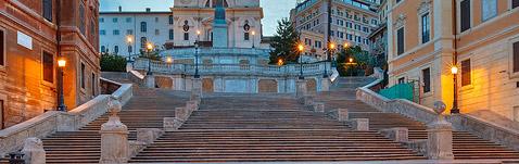 Mostra delle Azalee, Spanish steps, Rome