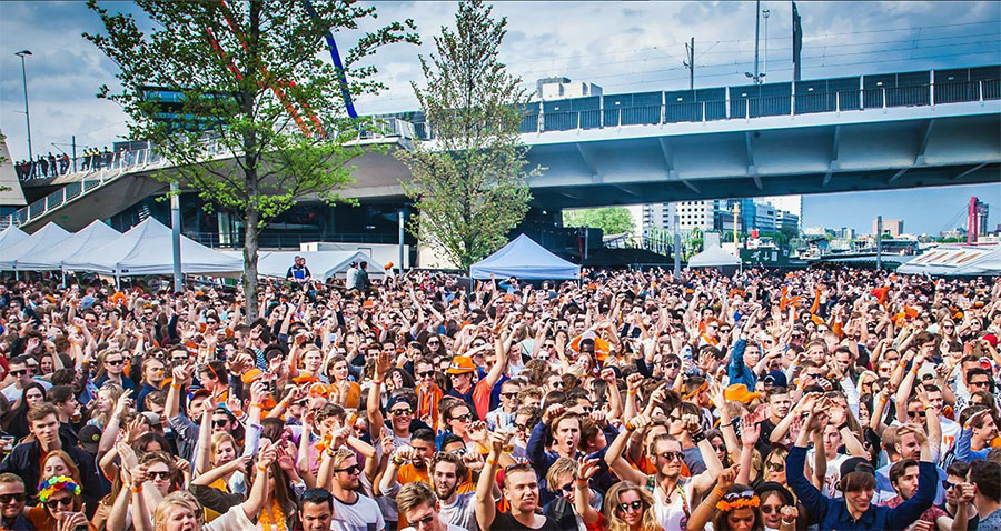 Rotterdam King's Day