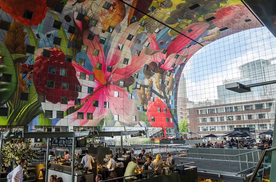 Markethall, Rotterdam, The Netherlands