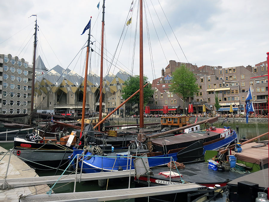 Old Harbour Rotterdam, the Netherlands