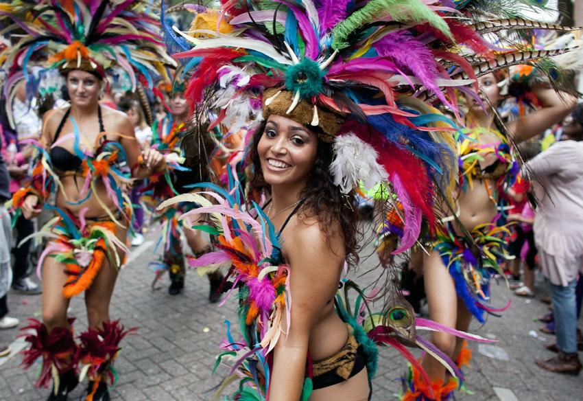 Summer carnival in Rotterdam