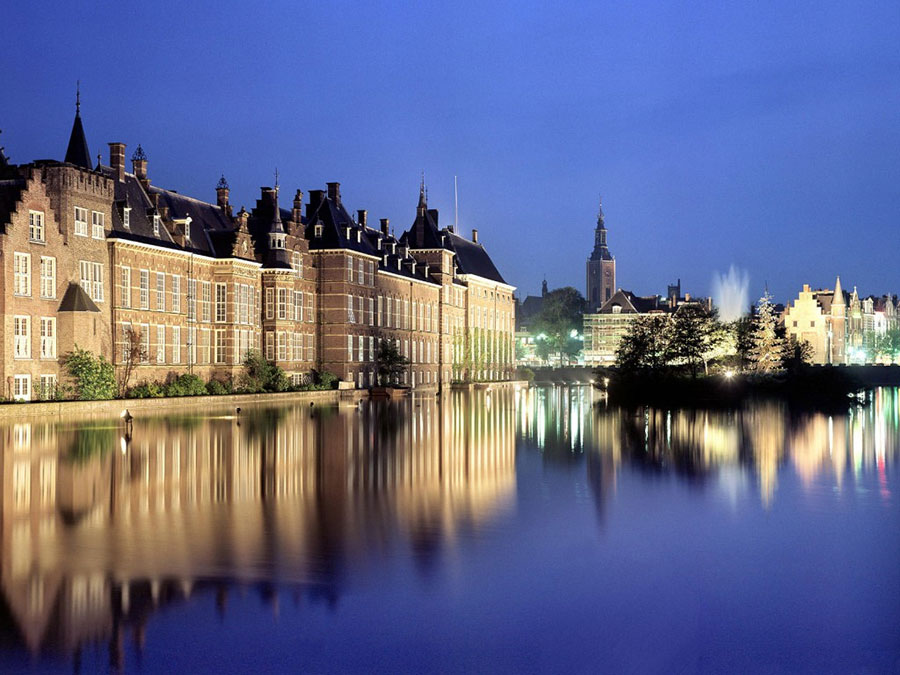 Beautiful view of The Hague