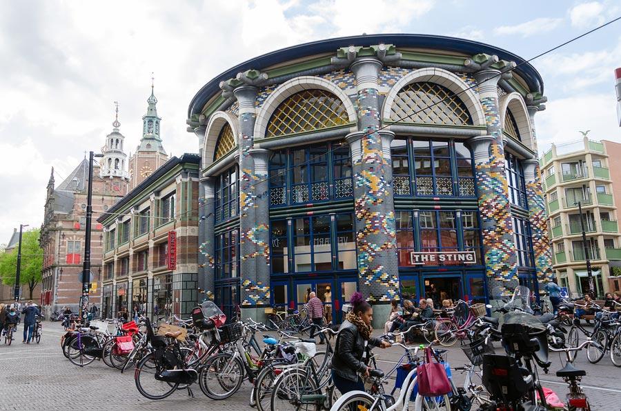 City centre The Hague shopping